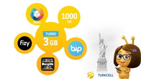 Turkcell Turbo Bizbize 3GB Kampanyası