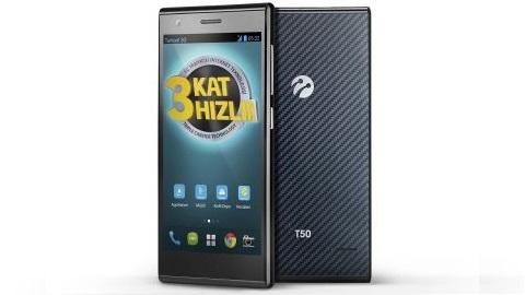 63 Mbit mobil internet hızına sahip Turkcell Turbo T50 satışa çıktı