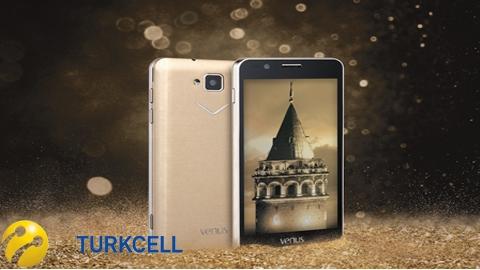 Turkcell Vestel Venus 5.0 V Gold Kampanyası