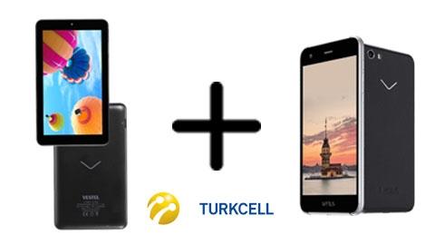 Turkcell Vestel Venus V3 5570 + Vestel V Tab 7 Lite III Cihaz Kampanya