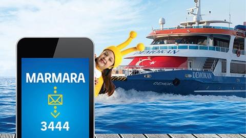 """Turkcell'den Mavi Marmara'da """"mobil jeton"""" uygulaması"""