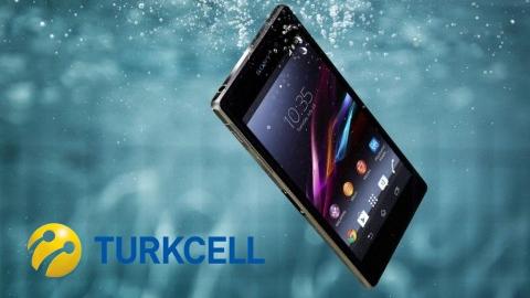 Turkcell'den suya ve toza dayanıklı  Sony Xperia Z1 kampanyası
