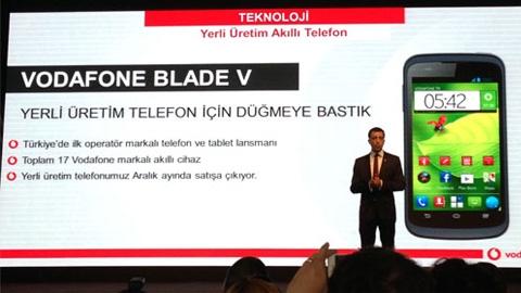 Türkiye'nin 2. yerli üretim akıllı telefonu Vodafone'dan: Blade V