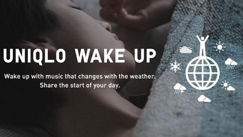 UNIQLO WAKE UP iOS ve Android uygulaması ile güne farklı başlayın