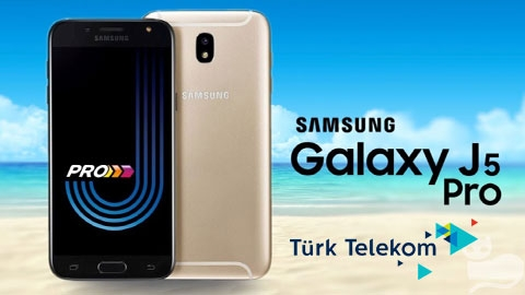 Türk Telekom Samsung Galaxy J5 Pro Akıllı Telefon Kampanyası