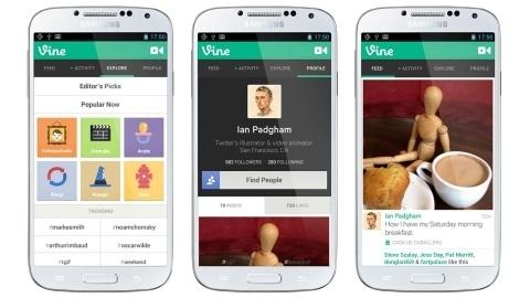 Video paylaşım platformu Vine, 40 milyon kullanıcıya ulaştı