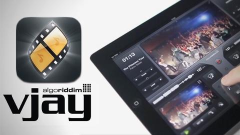 vJay iPad uygulaması kısa bir süreliğine ücretsiz