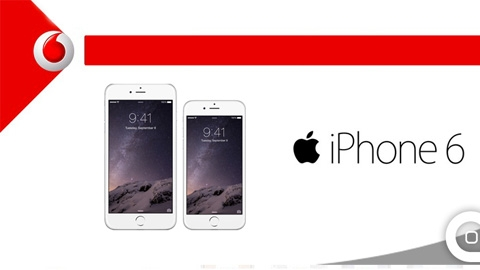 Vodafone 16 GB iPhone 6 Kampanyası