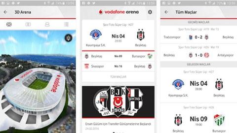 Vodafone Arena Android Uygulaması