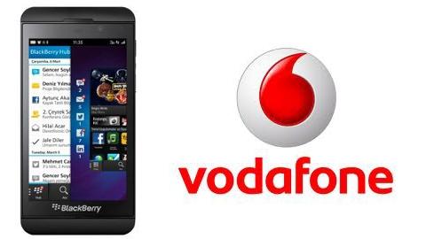 Vodafone BlackBerry Z10 Kampanyası sözleşmeli fiyatları