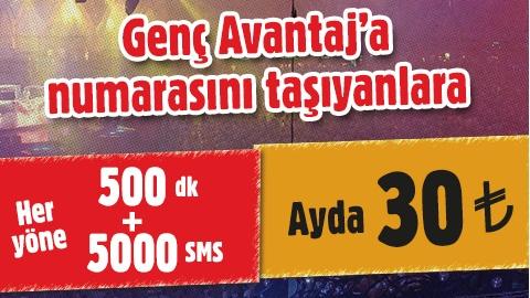 Vodafone Genç Avantaj Tarifesi ile numarasını taşıyanlara avantajlı fırsatlar