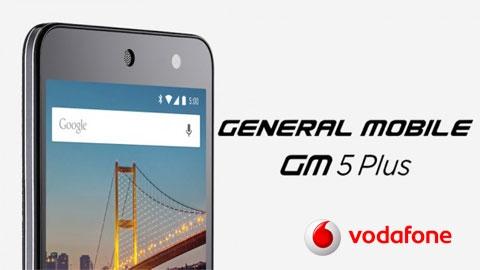 Vodafone General Mobile 5 Plus Cihaz Kampanyası