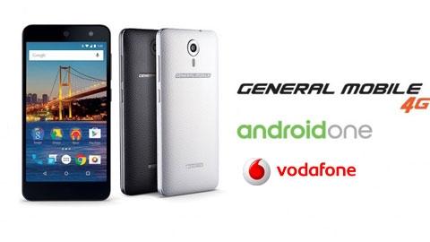 Vodafone General Mobile Android One Cihaz Kampanyası