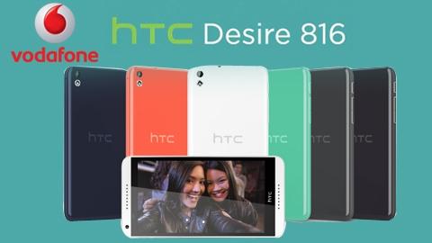 Vodafone HTC Desire 816 Kampanyası