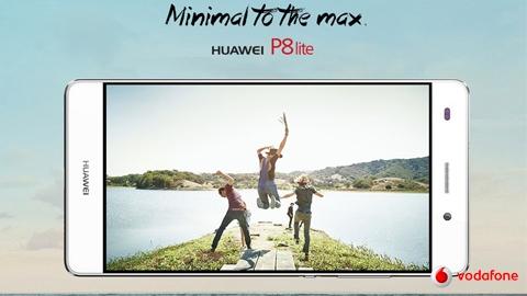 Vodafone Huawei P8 Lite Cihaz Kampanyası