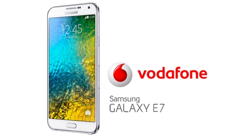Vodafone Samsung Galaxy E7 Kampanyası