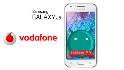 Vodafone Samsung Galaxy J5 Kampanyası