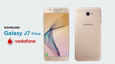 Vodafone Samsung Galaxy J7 Prime Cihaz Kampanyası