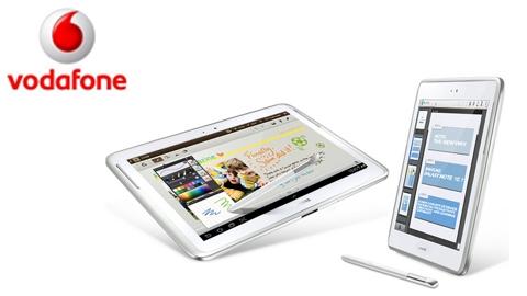Vodafone Samsung Galaxy Note 10.1 Kampanyası