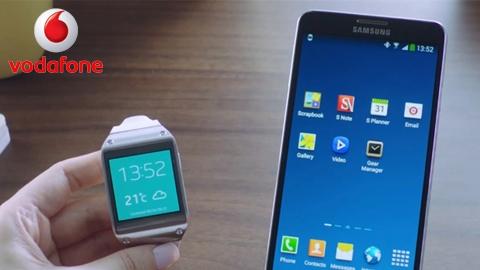 Vodafone Samsung Galaxy Note 3 + Gear kampanyası
