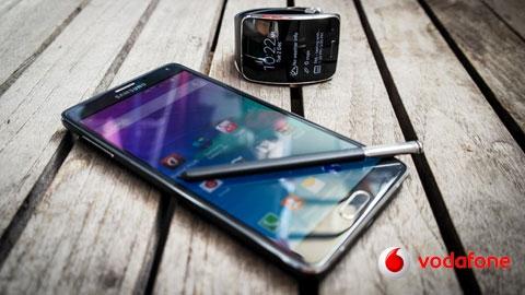 Vodafone Samsung Galaxy Note 4 + Gear S Cihaz Kampanyası