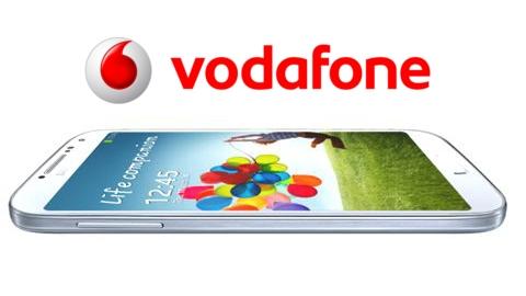 Vodafone Samsung Galaxy S4 kampanyası sözleşmeli fiyatları açıklandı