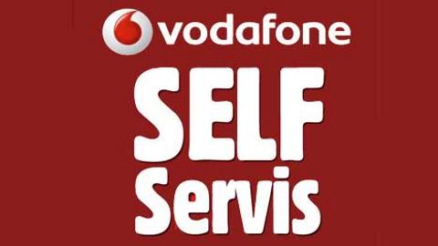 Vodafone Self Servis iOS ve Android uygulaması ile işlemler çok kolay