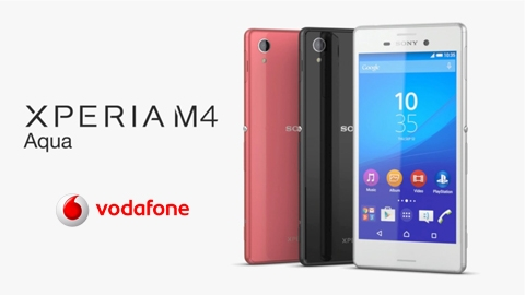Vodafone Sony Xperia M4 Aqua Cihaz Kampanyası