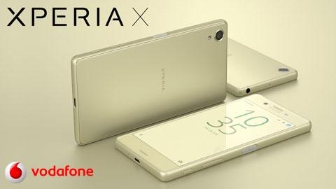 Vodafone Sony Xperia X Cihaz Kampanyası