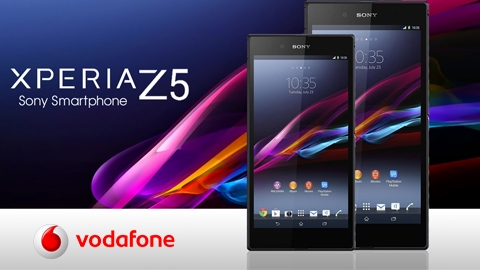 Vodafone Sony Xperia Z5 Kampanyası