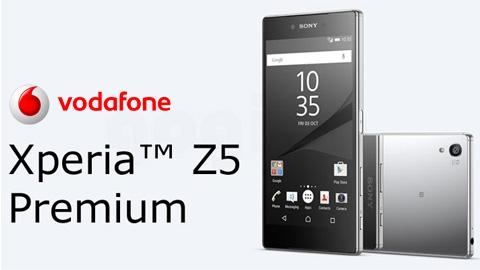 Vodafone Sony Xperia Z5 Premium Cihaz Kampanyası