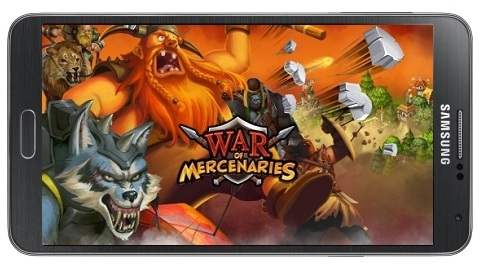 War of Mercenaries Android işletim sistemi için indirmeye sunuldu