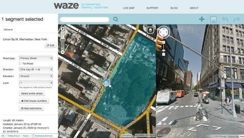 Waze'nin trafik raporları artık Google Maps üzerinden görüntülenebilecek