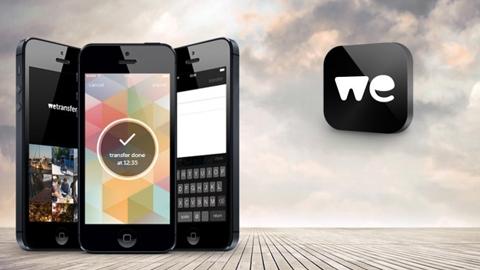 Wetransfer iOS Uygulaması