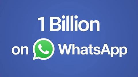 WhatsApp bir milyar aktif kullanıcıya ulaştı