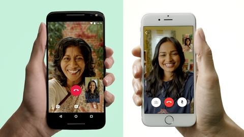 WhatsApp görüntülü görüşme özelliğini resmen duyurdu