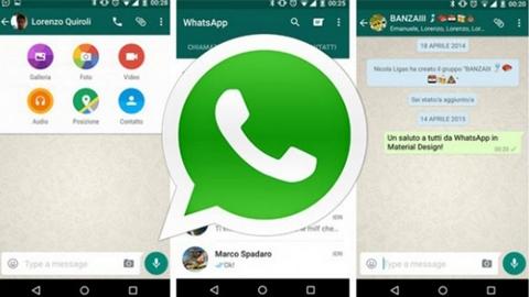 WhatsApp Materyal Tasarıma Geçti
