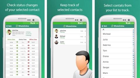WhatsOnline Android Uygulaması