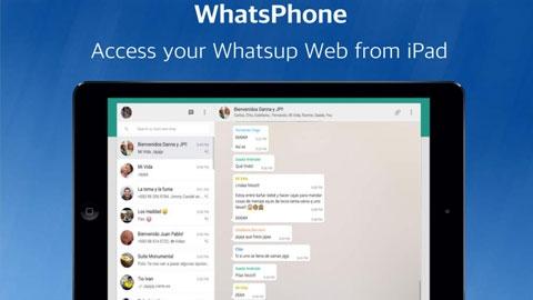 WhatsPhone Aynı Cihazda Anda İki WhatsApp Kullanma Uygulaması