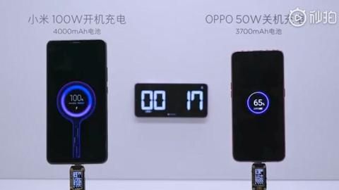 Xiaomi'den akıllı telefonları 17 dakikada şarj edecek teknoloji