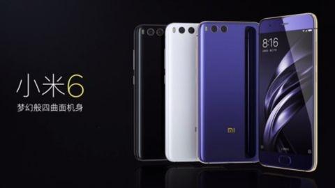 Xiaomi Mi 6 resmen tanıtıldı