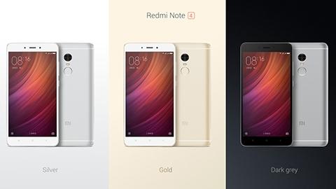 On çekirdekli Xiaomi Redmi Note 4 tanıtıldı