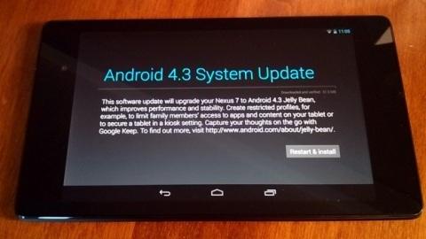 Yeni Nexus 7 ilk yazılım güncellemesini aldı