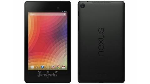 Yeni Nexus 7'ye ait ilk resmi görüntü