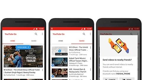 Video indirme özelliğine sahip Youtube Go uygulaması duyuruldu