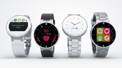 Alcatel'den yuvarlak ekranlı akıllı saat: Alcatel OneTouch Watch