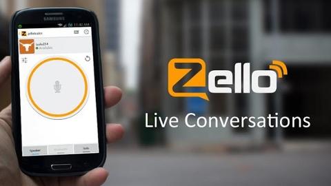 Zello iOS ve Android uygulaması ile telefonunuz telsize dönüşsün