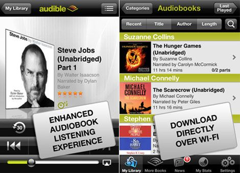 iPhone Audible uygulaması
