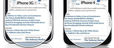 iPhone 4: Retina Display