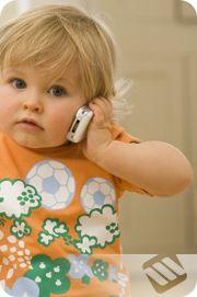Cep telefonu çocuk